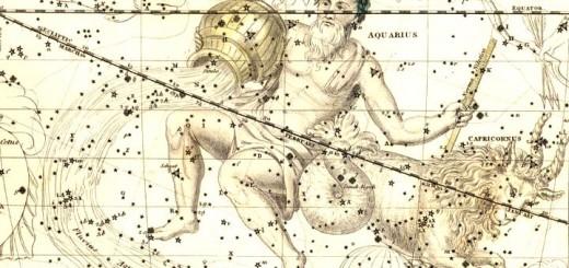 изображение: Celestial Atlas by Alexander Jamieson, London : G. & W.B. Whittaker, 1822.