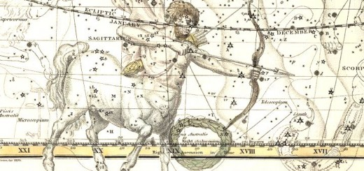 изображение: Celestial Atlas by Alexander Jamieson, London : G. & W.B. Whittaker, 1822.